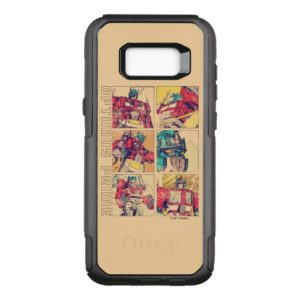 Transformers | Optimus Prime Comic Strip OtterBox Commuter Samsung Galaxy S8+ Case