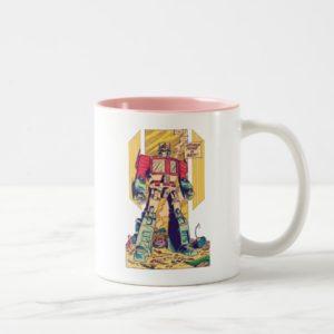 Transformers   Optimus Prime is Back Two-Tone Coffee Mug