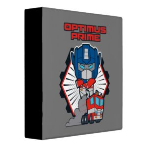 Transformers | Optimus Prime Returns Binder