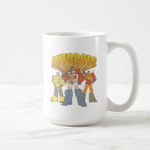 Transformers | Retro Autobots Group Graphic Coffee Mug