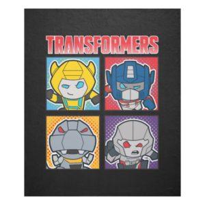 Transformers   Robots Assemble! Fleece Blanket