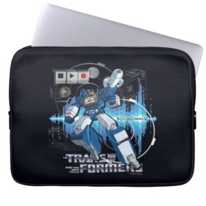 Transformers | Soundwave Iconography Collage Computer Sleeve