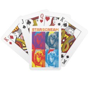Transformers | Starscream Pop Art Playing Cards