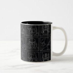 Transformers | Vintage Autobots Two-Tone Coffee Mug