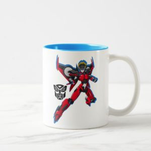 Transformers | Windblade Flying Pose Two-Tone Coffee Mug