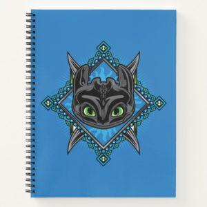 Tribal Toothless Emblem Notebook