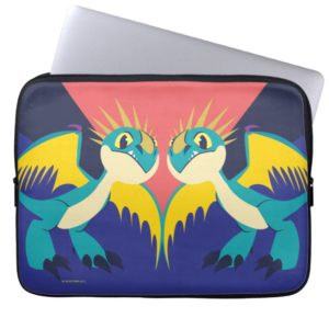 Two Deadly Nader Dragons Computer Sleeve
