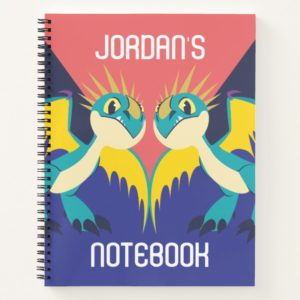 Two Deadly Nader Dragons Notebook