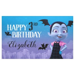 Vampirina Birthday Banner