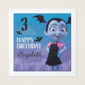 Vampirina Birthday Napkin