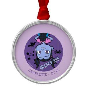 Vampirina | Boo Purple Badge Metal Ornament