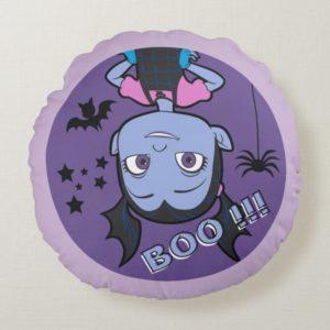 Vampirina | Boo Purple Badge Round Pillow