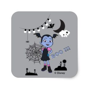 Vampirina | Boo Square Sticker
