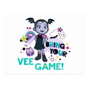 Vampirina | Bring Your Vee Game! Postcard