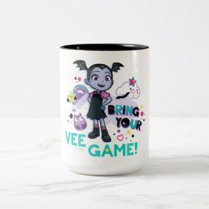 Vampirina | Bring Your Vee Game! Two-Tone Coffee Mug