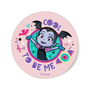 Vampirina | Cool to be Me Classic Round Sticker
