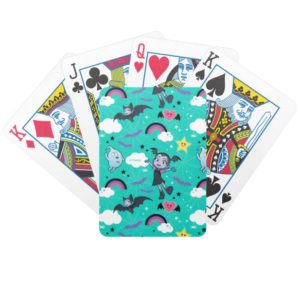 Vampirina & Demi | Friends are Magical Pattern Bicycle Playing Cards
