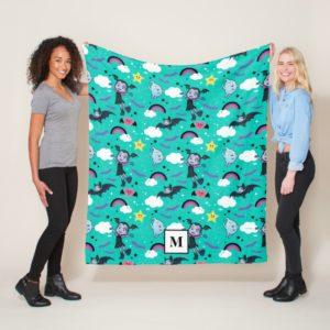 Vampirina & Demi   Friends are Magical Pattern Fleece Blanket