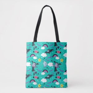 Vampirina & Demi | Friends are Magical Pattern Tote Bag