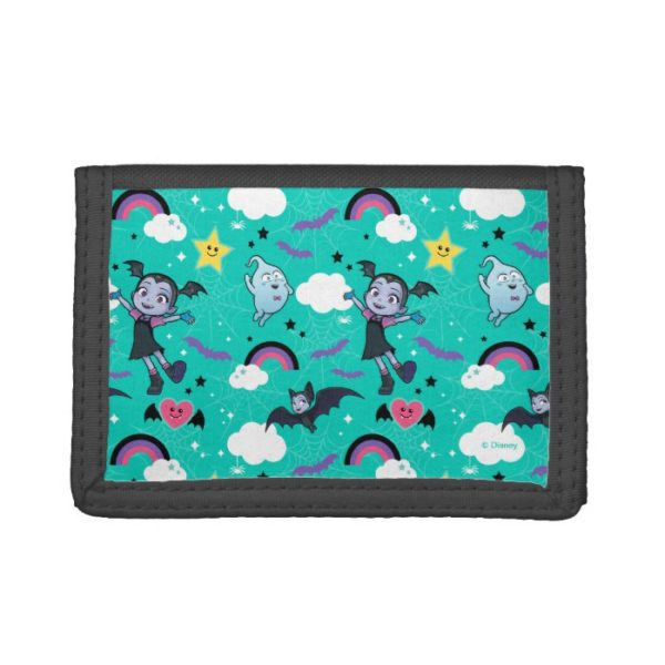 Vampirina & Demi | Friends are Magical Pattern Trifold Wallet