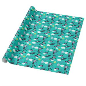 Vampirina & Demi   Friends are Magical Pattern Wrapping Paper