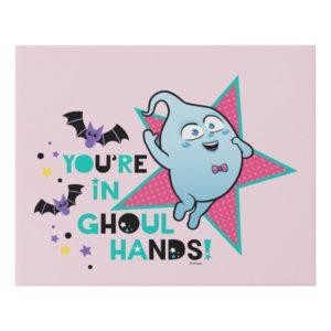 Vampirina | Demi - You're in Ghoul Hands! Faux Canvas Print