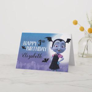 Vampirina | Happy Birthday Card
