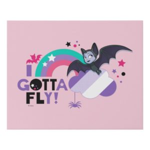 Vampirina   I Gotta Fly! Faux Canvas Print