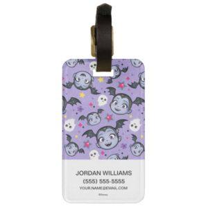 Vampirina | Super Sweet Purple Pattern Bag Tag
