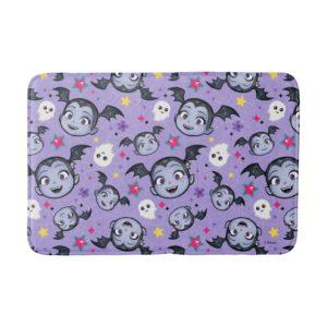 Vampirina | Super Sweet Purple Pattern Bath Mat