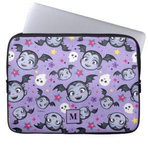 Vampirina   Super Sweet Purple Pattern Computer Sleeve