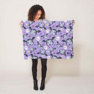 Vampirina | Super Sweet Purple Pattern Fleece Blanket