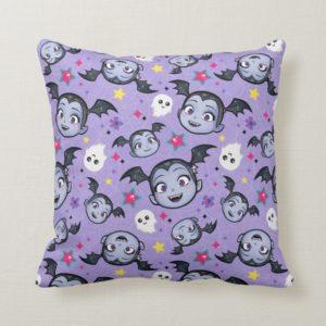 Vampirina | Super Sweet Purple Pattern Throw Pillow