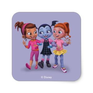 Vampirina & the Ghoul Girls Square Sticker