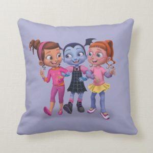 Vampirina & the Ghoul Girls Throw Pillow