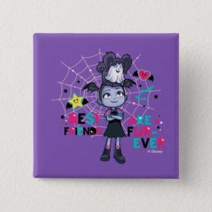 Vampirina & Wolfie | Best Friends are Fur-Ever Button