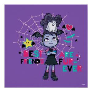 Vampirina & Wolfie | Best Friends are Fur-Ever Poster