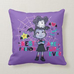 Vampirina & Wolfie | Best Friends are Fur-Ever Throw Pillow