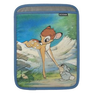 Vintage Bambi and Thumper Sleeve For iPads