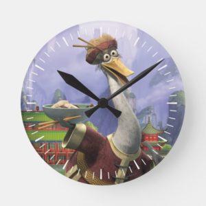 Vintage Mr. Ping Round Clock
