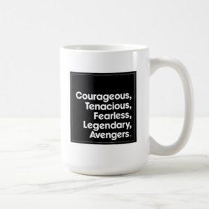 Avengers: Endgame | Avengers Adjective Typography Coffee Mug