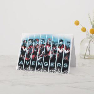 Avengers: Endgame | Avengers Assembled Lineup Card