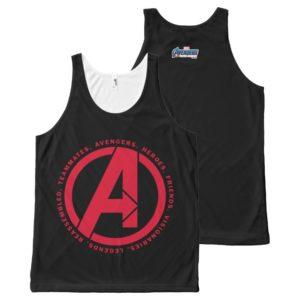 Avengers: Endgame | Avengers Attributes Logo All-Over-Print Tank Top