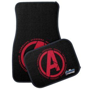 Avengers: Endgame | Avengers Attributes Logo Car Floor Mat