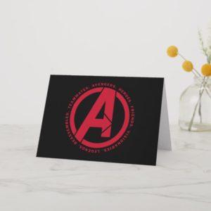 Avengers: Endgame | Avengers Attributes Logo Card