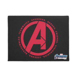 Avengers: Endgame | Avengers Attributes Logo Doormat