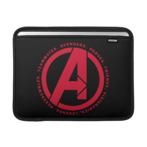 Avengers: Endgame | Avengers Attributes Logo MacBook Air Sleeve