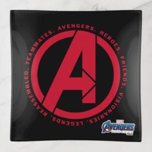 Avengers: Endgame | Avengers Attributes Logo Trinket Trays