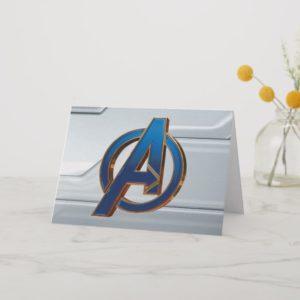 Avengers: Endgame | Avengers Blue & Gold Logo Card