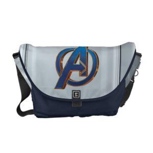 Avengers: Endgame | Avengers Blue & Gold Logo Courier Bag
